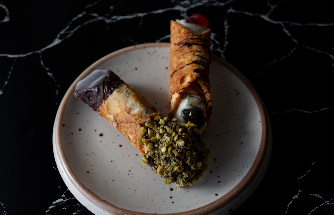 Brisbane Food Photography Cannoli